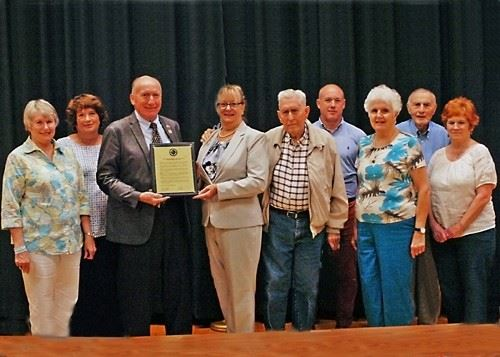 Recognition of 50th Anniversary of Caroline Historical Society
