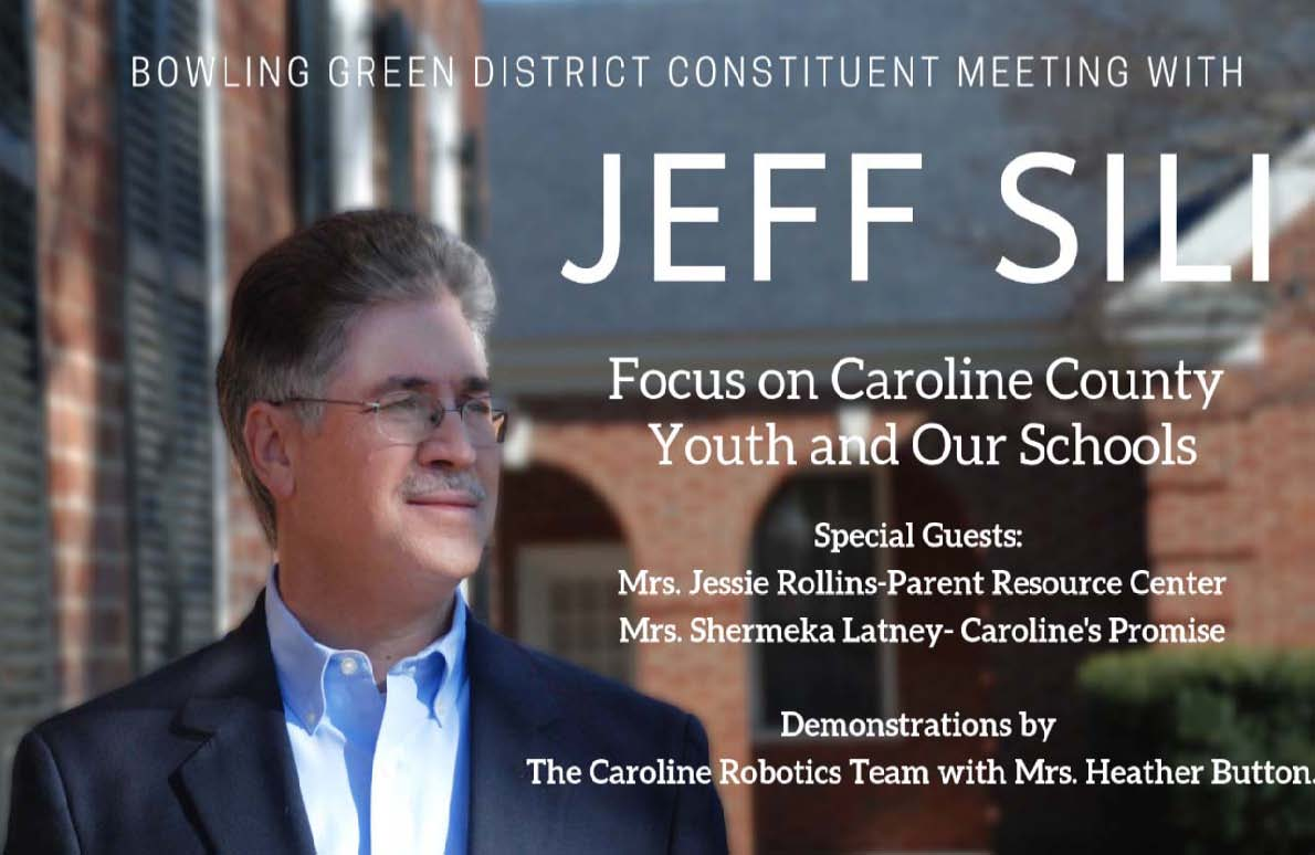 Jeff Sili  Constituent Meeting March 2019